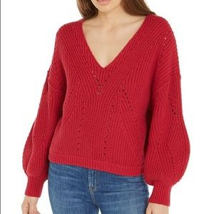 Free People • All Day Long V-Neck Sweater